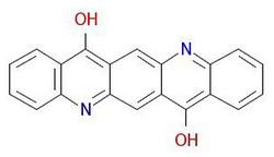 Пигментно-виолетово-19-молекулярна структура
